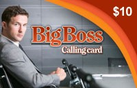 Big Boss Phonecard $10