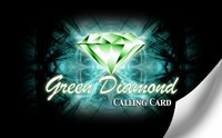 Green Diamond Calling Card