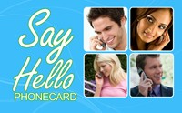 Say Hello phone card
