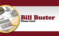 Bill Buster Phonecard