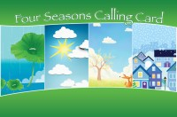 Four Seasons Phone Card