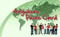 Anywhere Phone Card