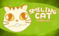 Smiling Cat Phone Card