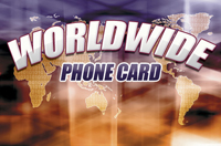 Worldwide Phone Card