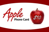 Apple Phonecard $10