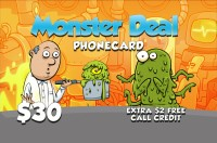 Monster Deal Phone Card $30