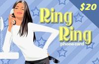 RingRing Calling Card $20