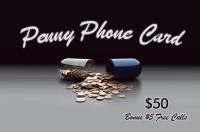 Penny Phone Card $50