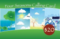 Four Seasons Phone Card $20