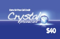 Crystal Phone Card $40