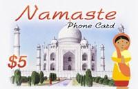 Namaste Phone Card $5