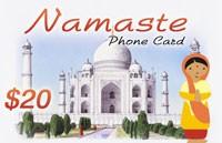 Namaste Phone Card $20