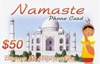 Namaste Phone Card $50