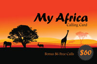 My Africa $60