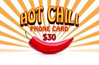 Hot Chili Phonecard $30