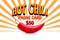 Hot Chili Phonecard $50